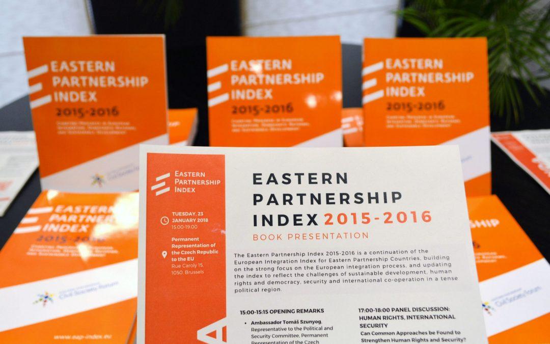 Индекс Восточного партнерства: Соглашения об ассоциации приводят к постоянному прогрессу в интеграции с ЕС, но государство все еще сильно