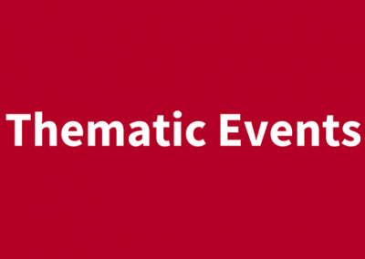 (English) Thematic Events