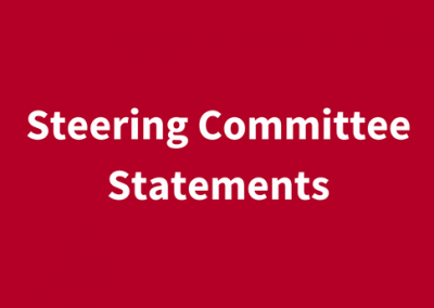 Steering Committee Statements