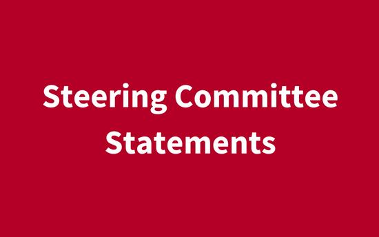 [:en]Steering Committee Statements[:]