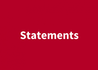 (English) Statements
