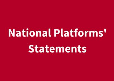National Platforms' Statements