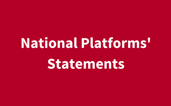 [:en]National Platforms' Statements[:]
