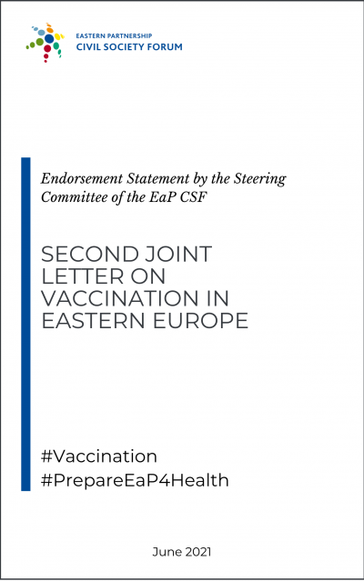 Steering Committee endorsement for second joint letter on vaccine needs