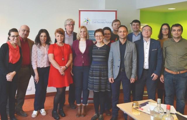 EaP CSF Steering Committee Meeting in Brussels, April 2019