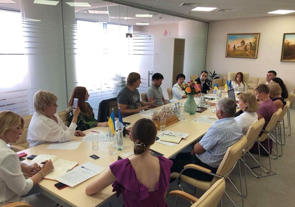 """Social Partnership for Equality"" Working Group 5 Re-granting Project Mets at Large in Kyiv to Discuss Vectors For Further Cooperation with Institutional Partners"