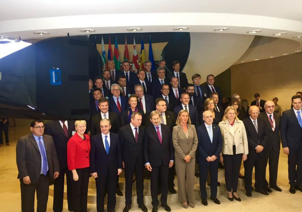 EaP CSF Sends a Strong Message from the Region at EaP Foreign Ministers Meeting in Luxembourg – in Reference to NDICI Draft Legislation and 2020 Deliverables, as well as New Threats and Challenges