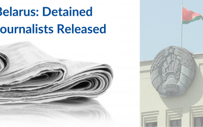 EaP CSF Steering Committee Welcomes the Release of Detained Journalists in Belarus Amidst Concerns About Independent Media