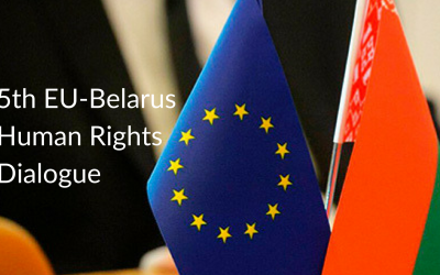 Belarusian Civil Society Provides Recommendations to Improve the Efficiency of the Interagency Plan at the 5th EU-Belarus Human Rights Dialogue