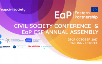 Civil Society Leaders Assembled in Tallinn to Debate on Tangible Results of the Eastern Partnership ahead of the Brussels Summit