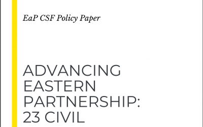 23 Civil Society Ideas for the Policy beyond 2020