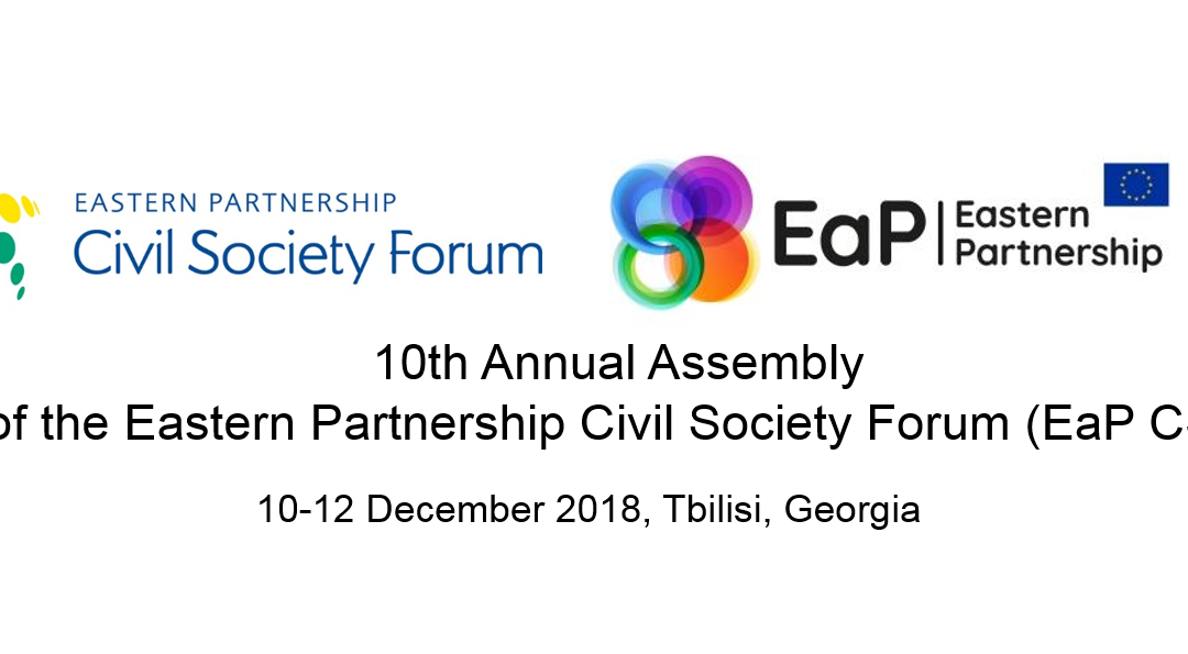 EaP CSF Steering Committee Statement on the Preparations of the Upcoming EaP CSF 10th Annual Assembly in Tbilisi – in Response to the Critical Comments in the Media in Azerbaijan