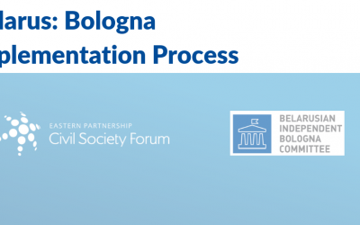 Belarus is Not Able to Meet its Obligations on Bologna – EaP CSF Calls on BFUG to Re-Establish a Support Group on Belarus in a Joint Memo