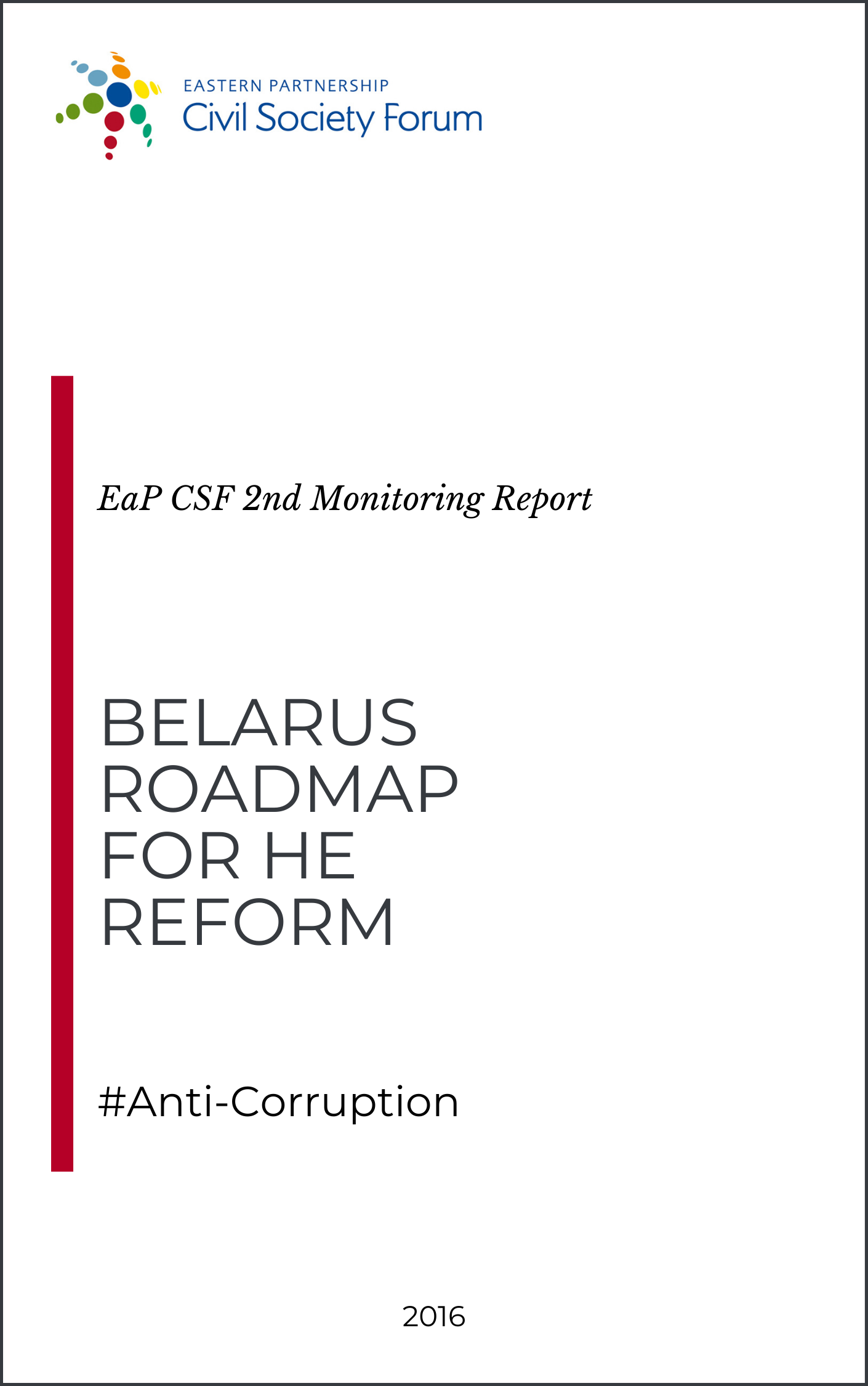 Belarus Roadmap for HE Reform (2nd Monitoring Report)