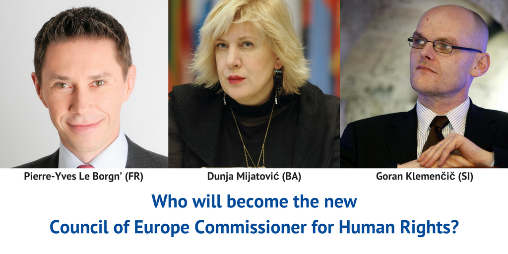EaP CSF Addresses Questions to Candidates Shortlisted for Position of the CoE Human Rights Commissioner