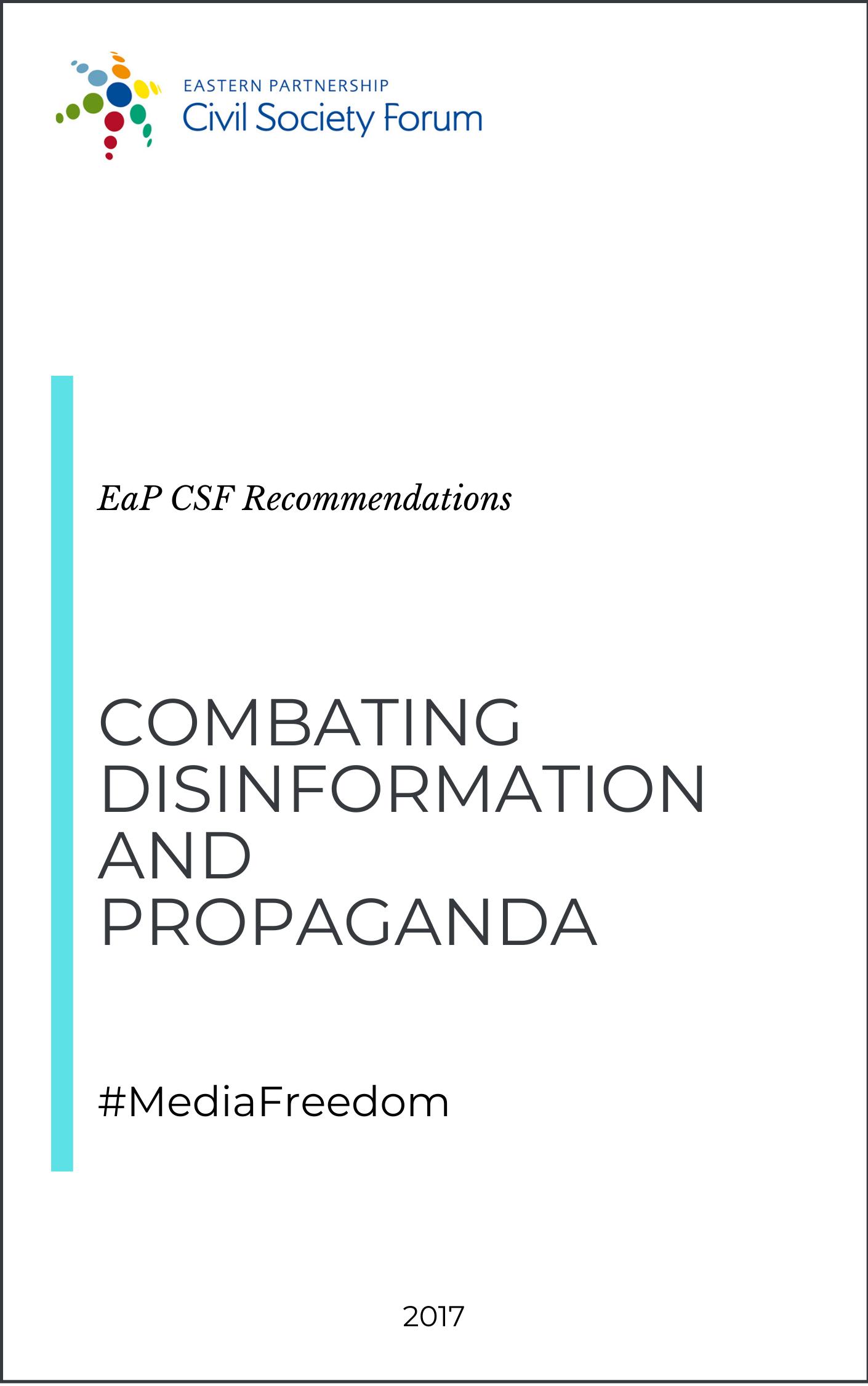 Combating Disinformation and Propaganda