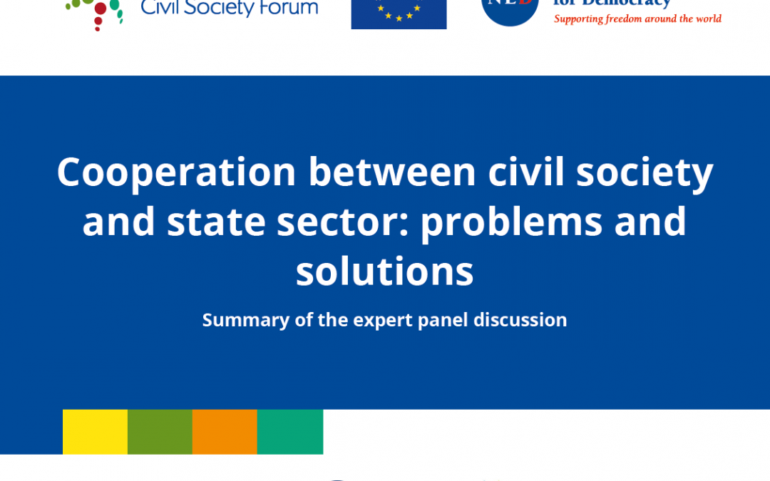 Cooperation Between Civil Society and Governments in Ukraine, Moldova and Georgia: Challenges and Way Forward