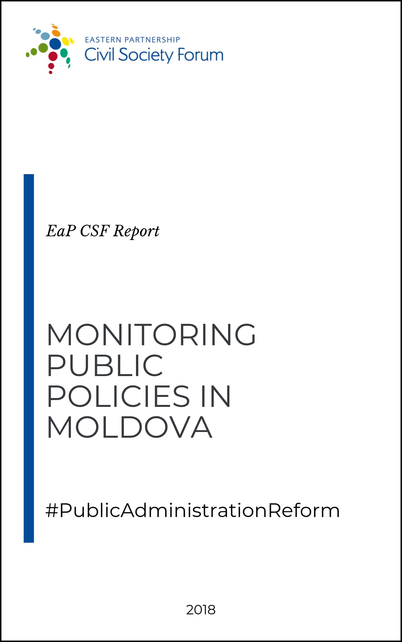 Monitoring Public Policies in Moldova