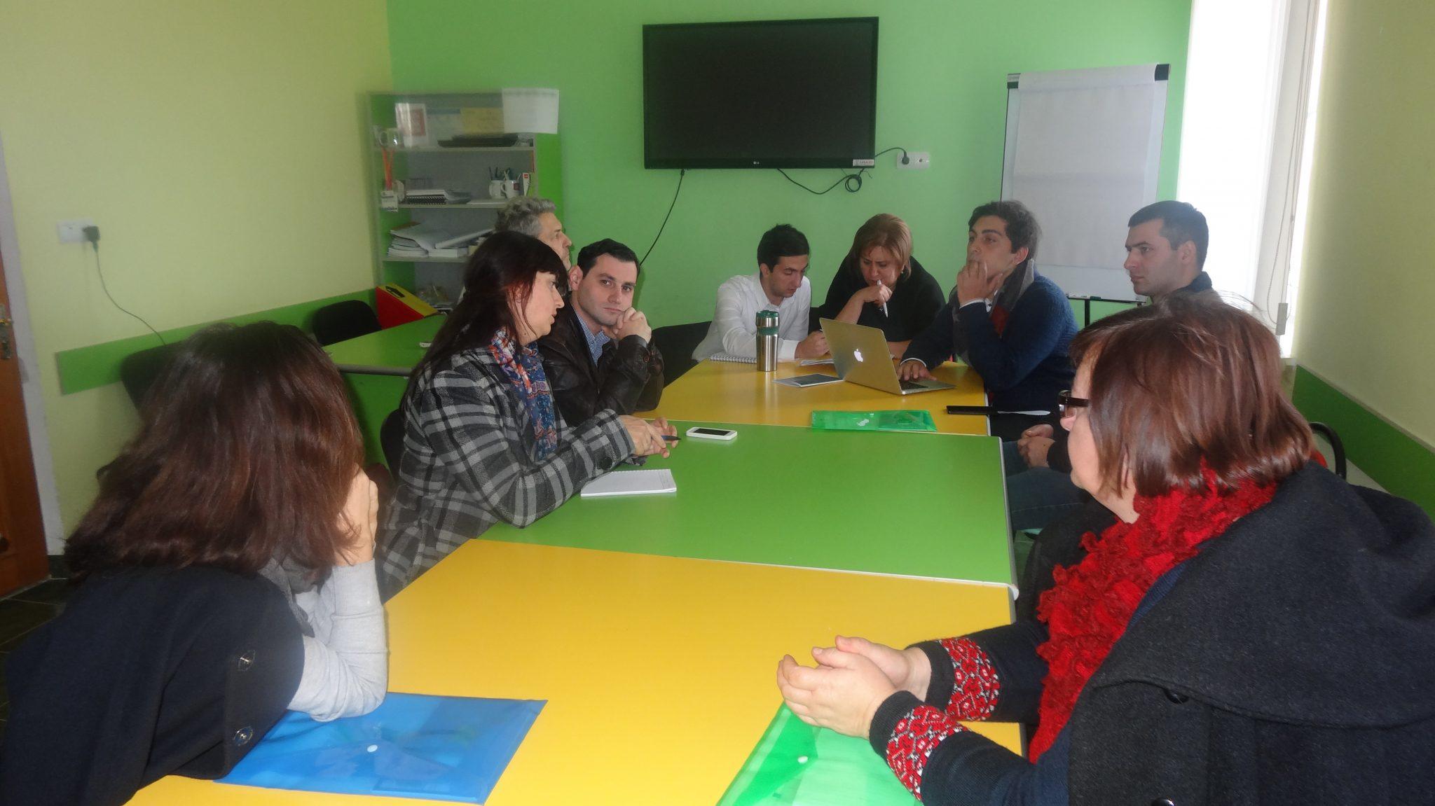 Conference preparation in Armenia