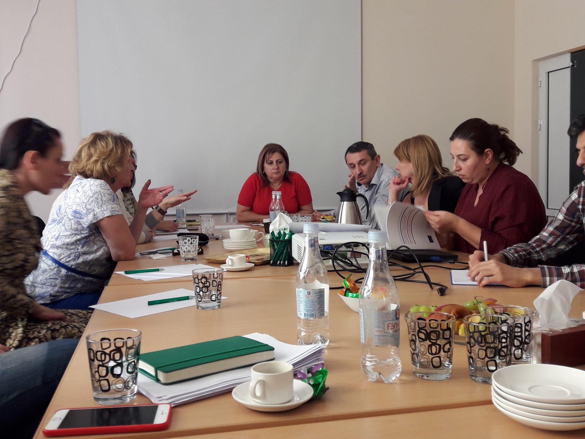 Focus group discussion in Armenia