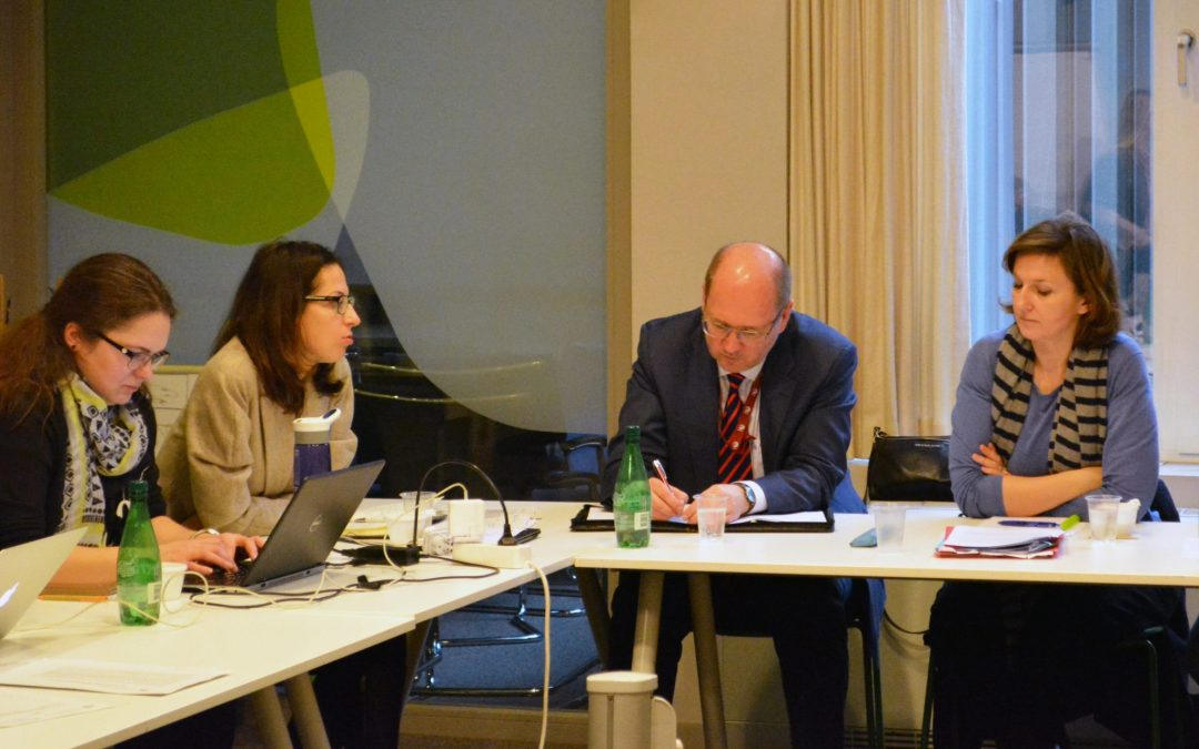 Steering Committee Meets in Brussels to Set the 2018 Agenda and Discuss EaP CSF's Place in the New EaP Architecture