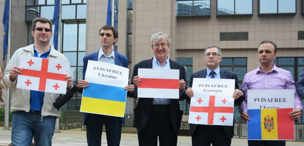 EaP CSF Has Launched #Visafree Campaign for Georgia and Ukraine