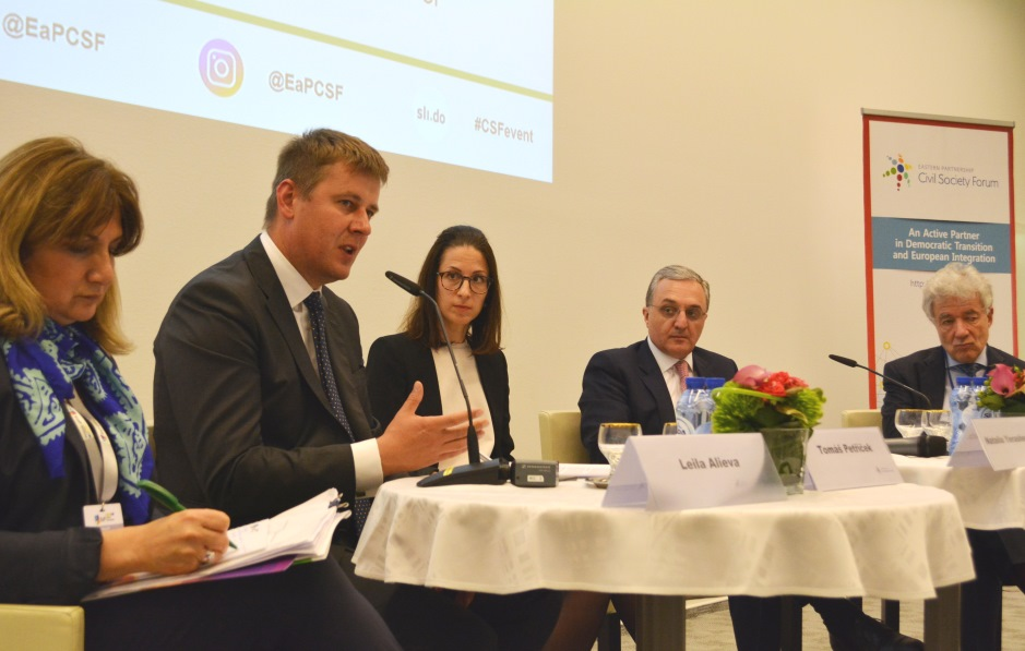 EaP CSF Brussels Public Event Series: Democracy, Human Rights, Good Governance and Stability (Brussels, 14 May 2019)