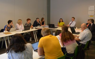 EaP CSF Steering Committee Meets in Brussels to discuss Strategy, Internal Reform and Participation in Annual Assembly