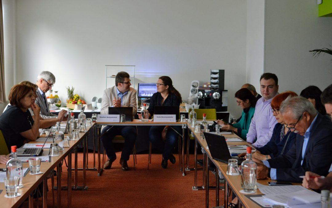 Рабочая группа №5 обсудила в Брюсселе социальный диалог, политику и инклюзивность