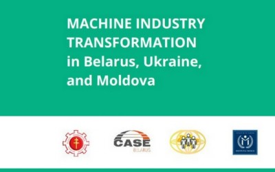 Machine Industry Transformation in Belarus, Ukraine, and Moldova