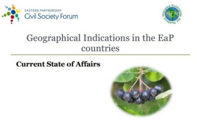 Geographical Indications in the EaP countries. Current State of Affairs
