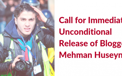 (English) Release the Imprisoned Blogger, Mehman Huseynov
