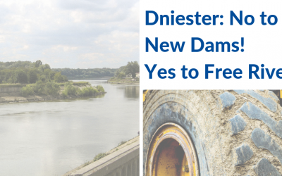 "EaP CSF Moldovan and Ukrainian National Platforms Raise Alarm – ""Dniester: No to New Dams! Yes to Free Rivers!"" in a Joint Declaration Against Hydropower"