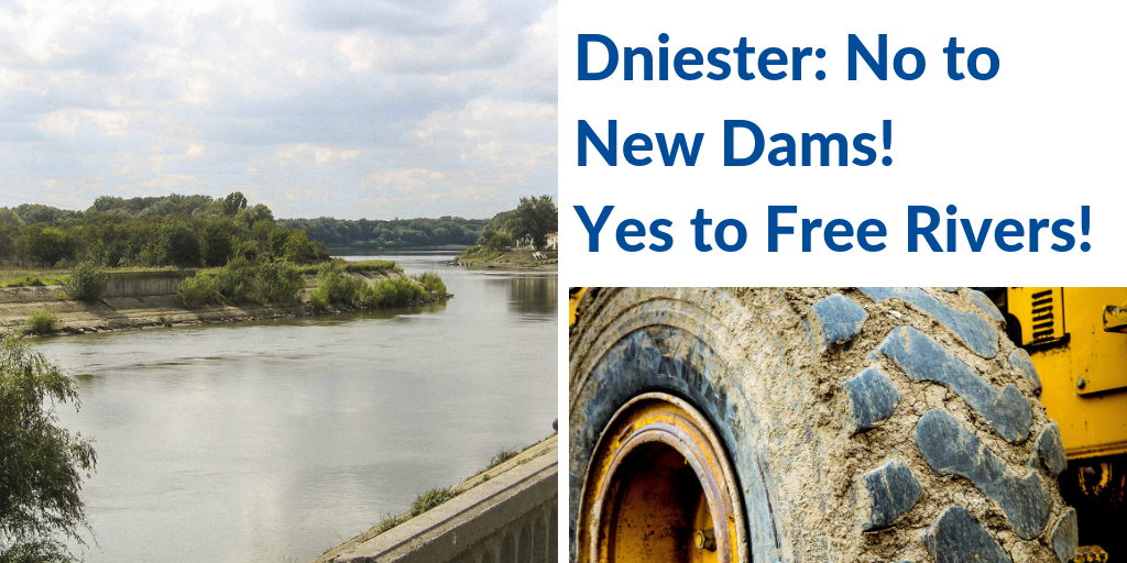 """EaP CSF Moldovan and Ukrainian National Platforms Raise Alarm – """"Dniester: No to New Dams! Yes to Free Rivers!"""" in a Joint Declaration Against Hydropower"""