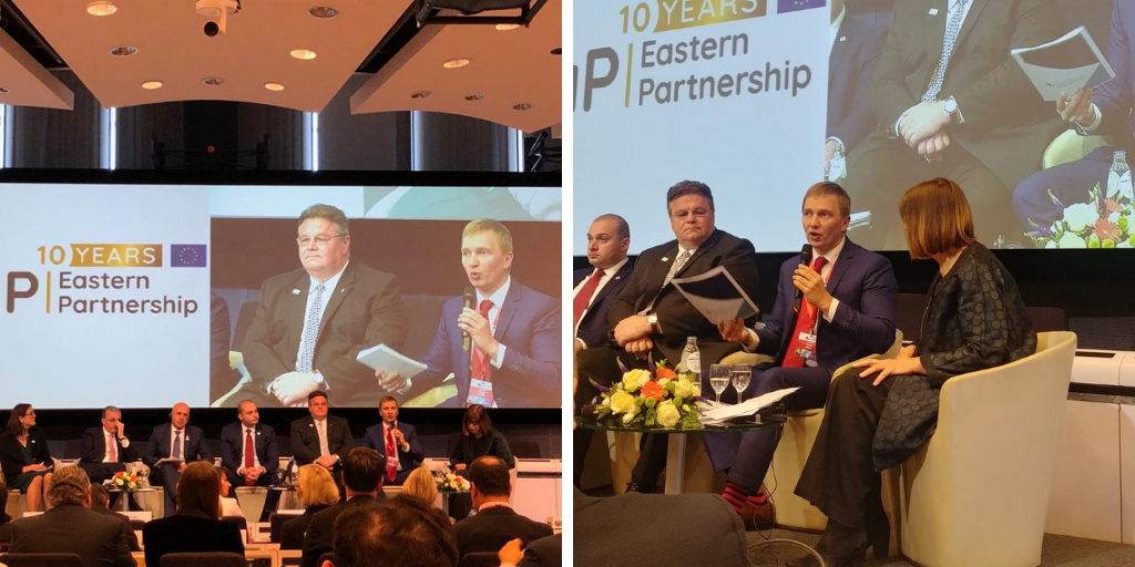"EaP CSF Calls for Maintaining Civil Society ""High on the Agenda"" at the High-level Conference, Celebrating 10 Years of Eastern Partnership in Brussels"