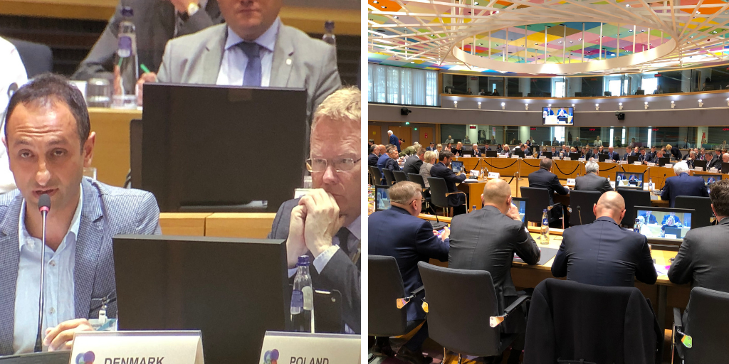 EaP CSF Delivers a Speech at Foreign Affairs Ministerial in Brussels, Ahead of High-Level Events Dedicated to 10 Years of Eastern Partnership