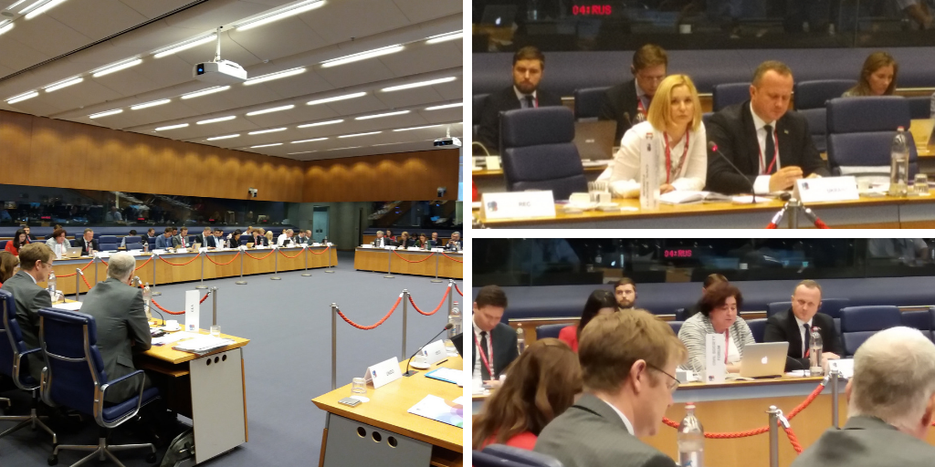 EaP CSF Shares Their Recommendations on Environmental Governance, Monitoring and Implementation at 2nd Eastern Partnership Ministerial Meeting on Environment and Climate Change