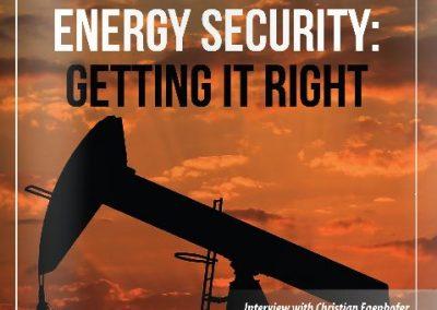 Euro-Atlantic Magazine: Energy Security Getting it Right