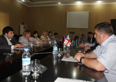 Meeting at Kutaisi City Hall