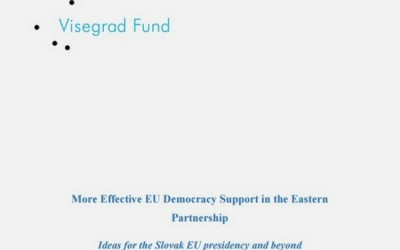 New Paper Explores Policy Options for Improving Democracy Support in the EaP Region