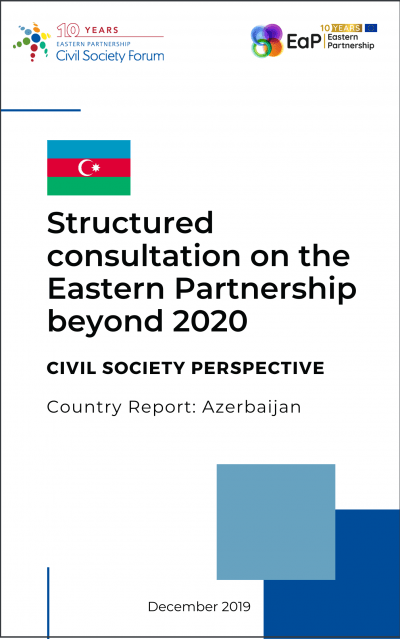 Country Report: Azerbaijan – Structured consultation on the Eastern Partnership beyond 2020
