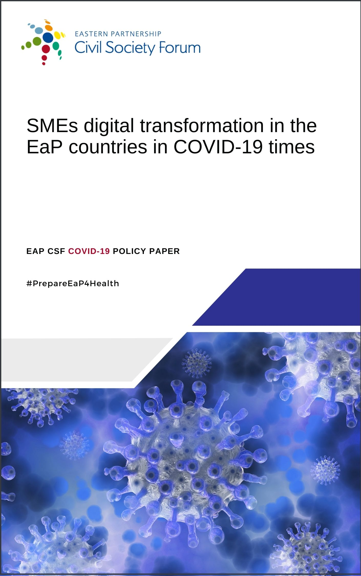 EaP CSF COVID-19 Policy Paper on SMEs digital transformation in COVID-19 times