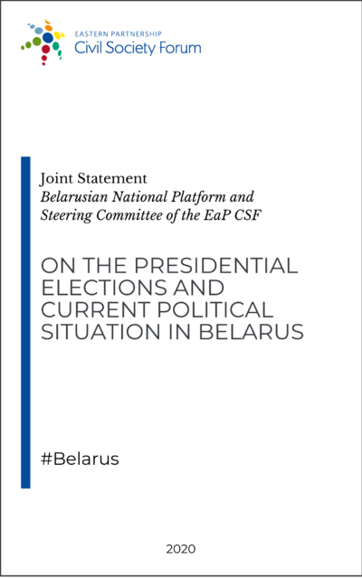 Presidential elections and political situation in Belarus