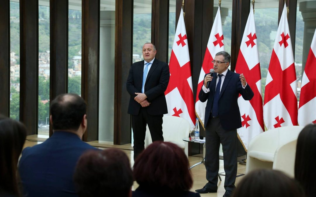 Консультации Грузинской НП с парламентом и правительством по поводу конституционной реформы