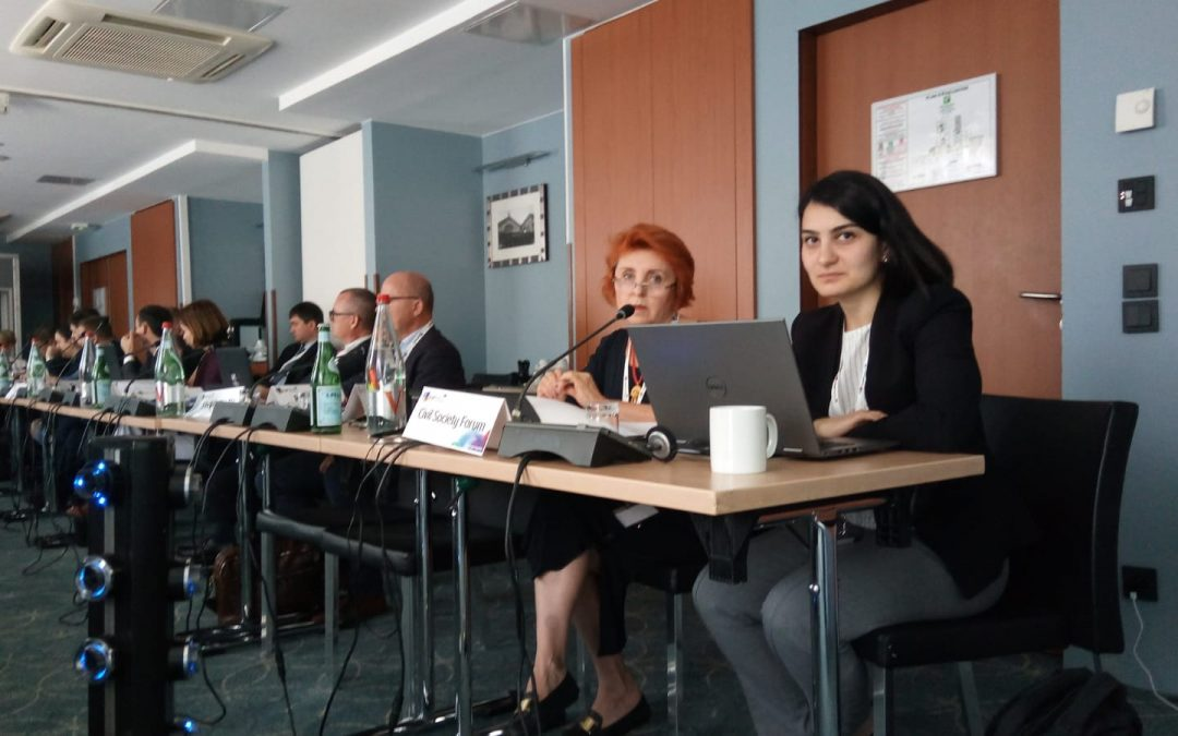 Corruption Challenges in Moldova and Opportunities for Change in Armenia at the Core of the EaP CSF Address to the EaP Panel on Rule of Law