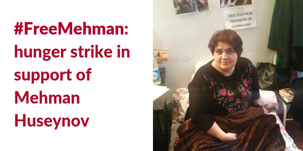 Journalist Khadija Ismayil is also on hunger strike