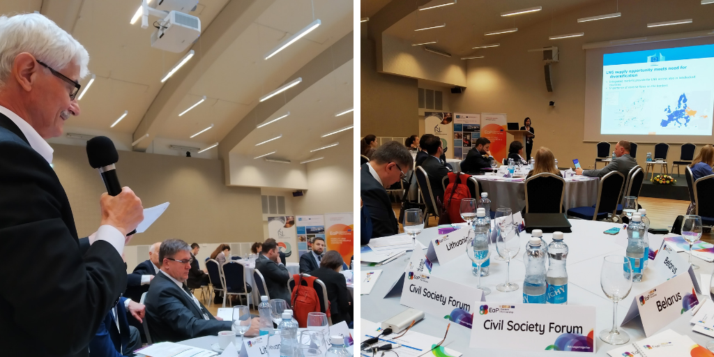 (English) EaP CSF Voices their Opinion at 2nd EaP LNG Network Workshop in Klaipeda, Calling for a More Strategic and Integrated Approach to Natural Gas