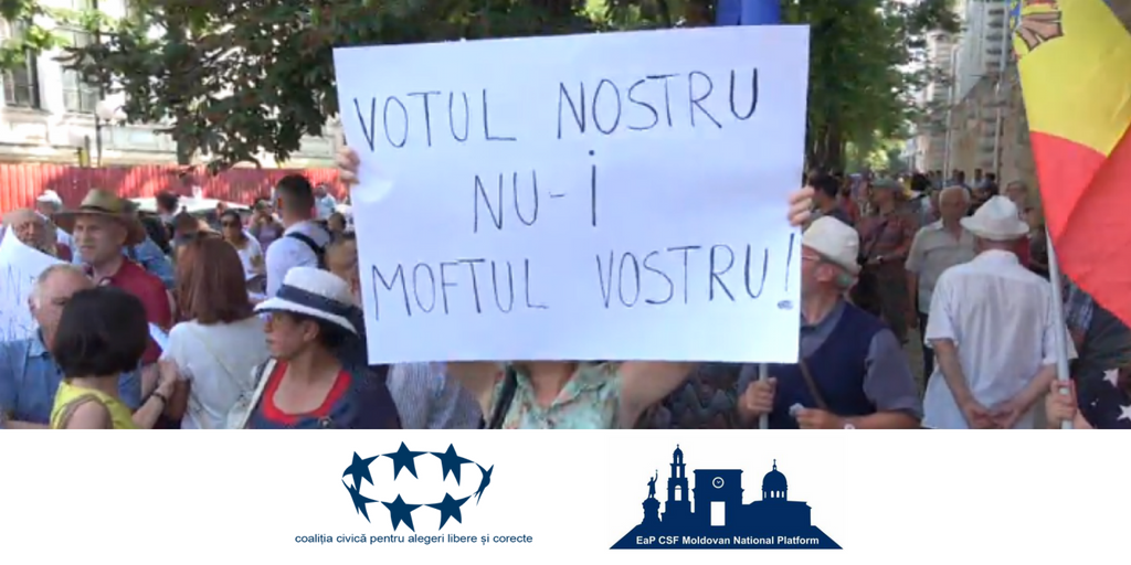 Moldovan National Platform and Civic Coalition for Free and Fair Elections Alarmed by the Chisinau City Court Judgments