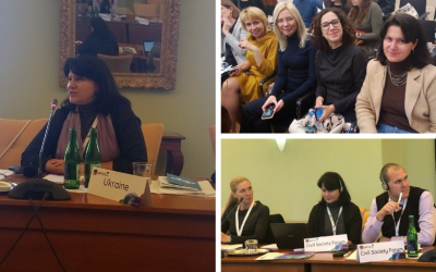 EaP CSF Presents a Position Paper on Gender Responsive Budgeting at 15th EaP Panel on Governance and Public Administration Reform (PAR) in Prague