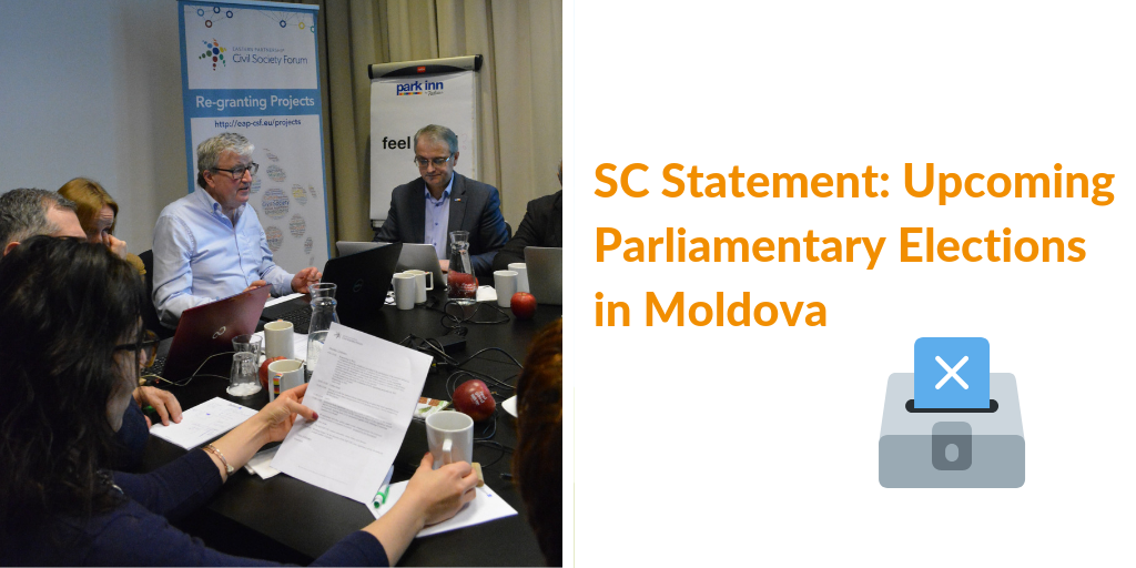 EaP CSF Steering Committee Issues a Statement on Moldova, Ahead of Parliamentary Elections – Urging International Actors to Watch the Situation Closely